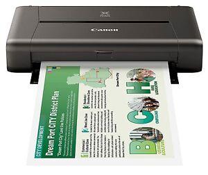Canon-PIXMA-iP110-ohne-Akku-mobiler-Tintenstrahldrucker-9596B009-A4-USB-WLAN
