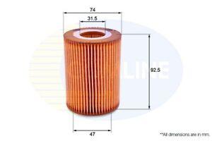 Comline-Filtro-de-aceite-del-motor-EOF218-Totalmente-Nuevo-Original