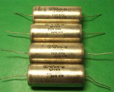 8pcs 1uF 250V K75-10 Audio Capacitors PAPER IN OIL PIO