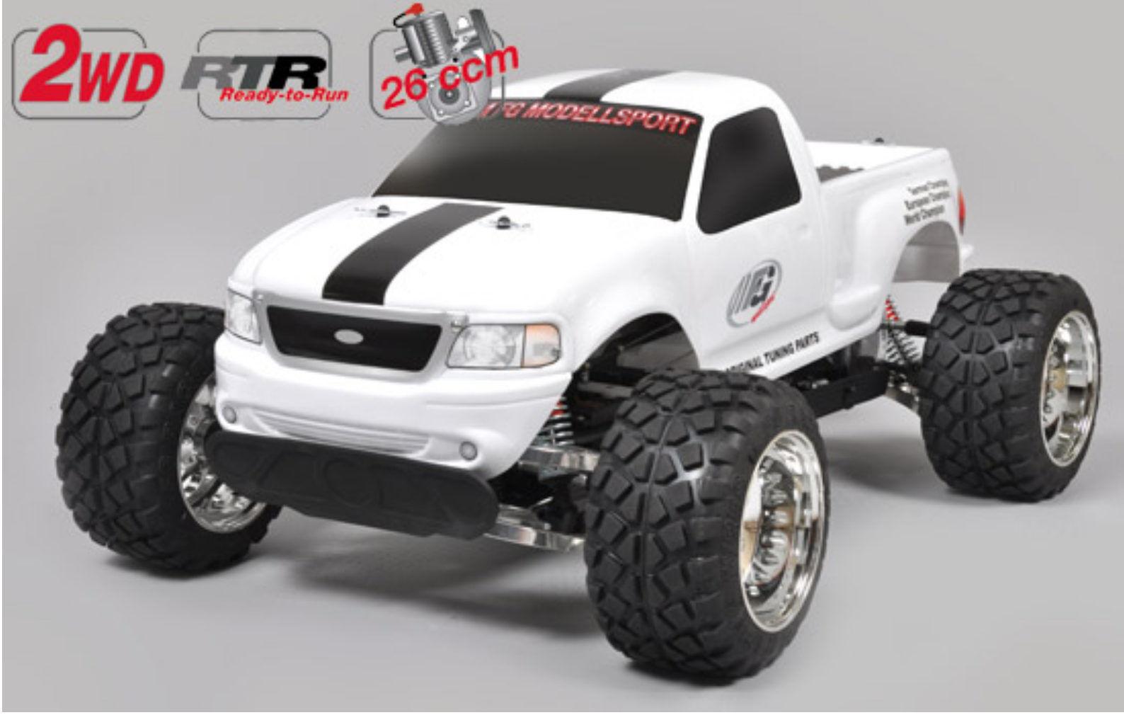 FG modelo Sport estadio Truck Limited Edition rtr pintadas en carrocería 6010rc