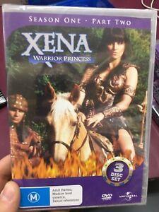 Xena-Warrior-Princess-Season-1-Part-2-NEW-sealed-region-4-DVD-3-discs-series