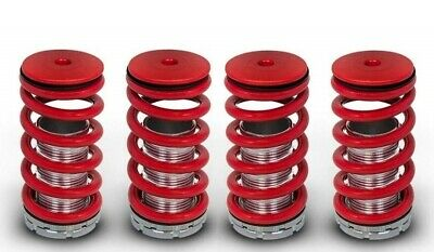 JDM RED 97-99 CL//95-98 TL Adjustable Coilover Lower Springs