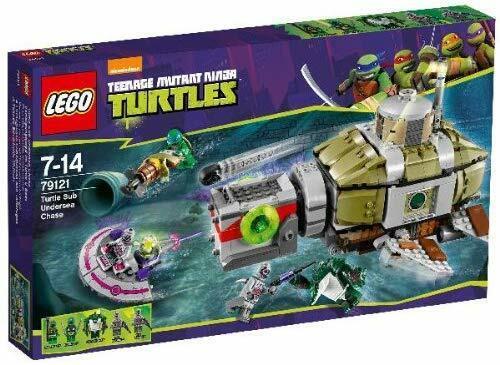 LEGO Teenage Mutant Ninja Turtles Submarine Chase Set 79121