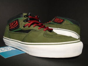 82ad9d83d1 VANS HALF CAB PRO ACTIVE DROP SNEAKERS NOT BOMBS DSNB RIFLE GREEN ...