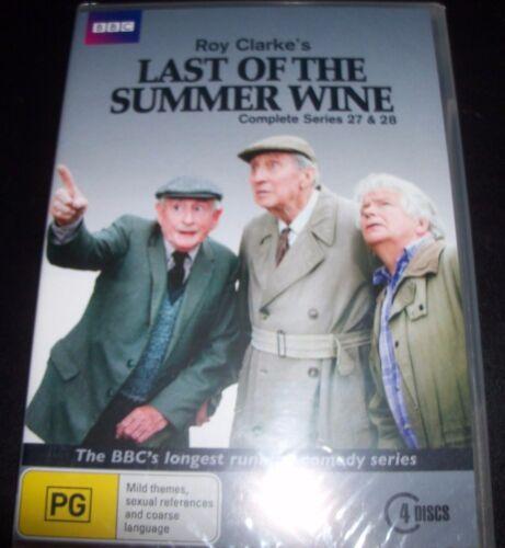 1 of 1 - Last of The Summer Wine Complete Series 27 & 28 (Australia Region 4) BBC DVD NEW