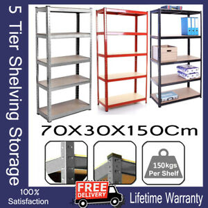 5 Tier Racking Boltless Heavy Duty