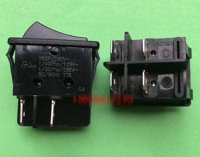 1PC RONG FENG RF-1001 Rocker Switch 3 Pins 2 Positions 10A 250VAC T85 #V7052 CH