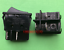 1PC RONG FENG RF-1004 Rocker Switch 4Pins 2 Positions 16A 250VAC Black #V7050 CH