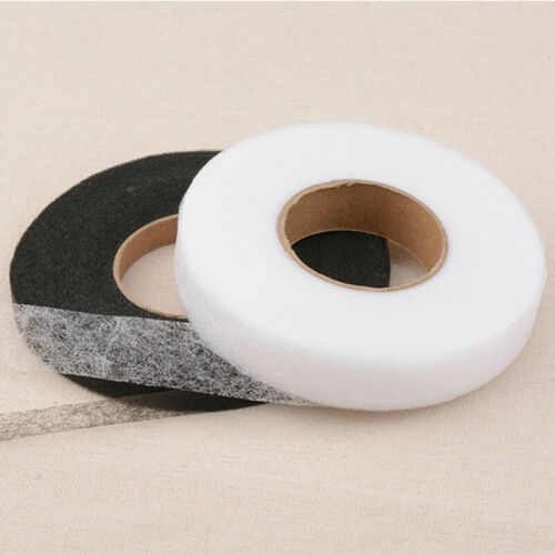 White//Black Wonder Web Iron On Hemming Tape Webbing Roll 20mm Wide WonderWeb