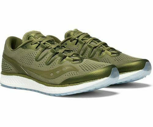 Saucony Men's Freedom ISO Running Sneaker Olive Green Size 5, MSRP  160
