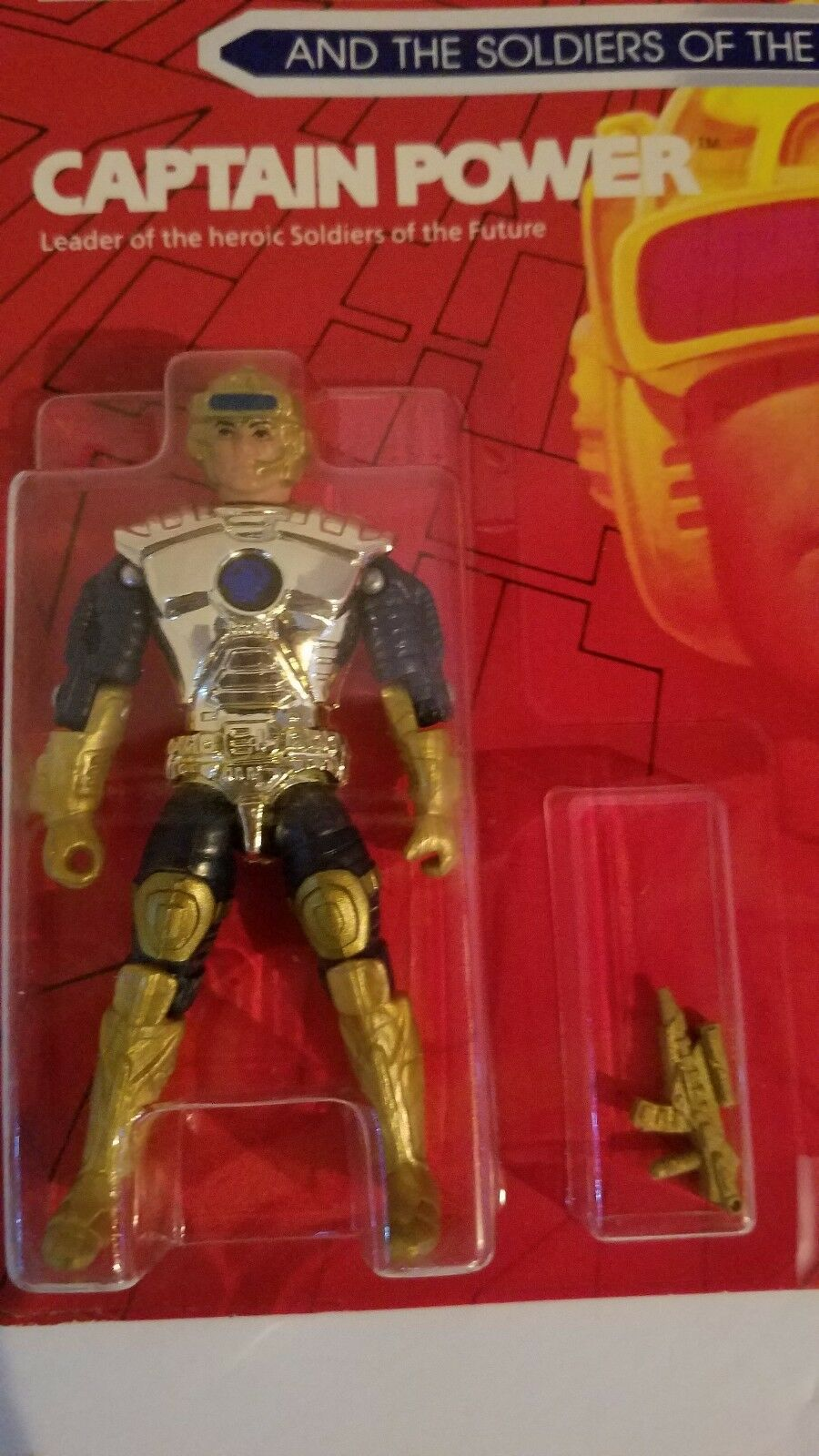 1987 Captain Power action figure by Mattel SEALED MOC