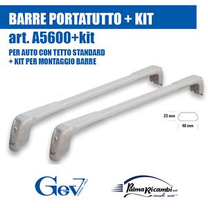 KIT per FIAT PUNTO 5p A5600+36 BARRE PORTATUTTO  GEV