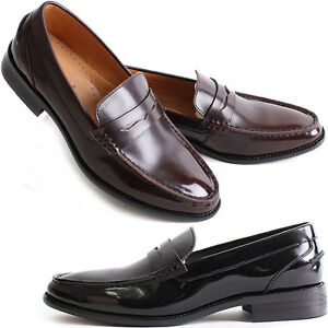 new mooda penny loafer classic dress casual mens formal