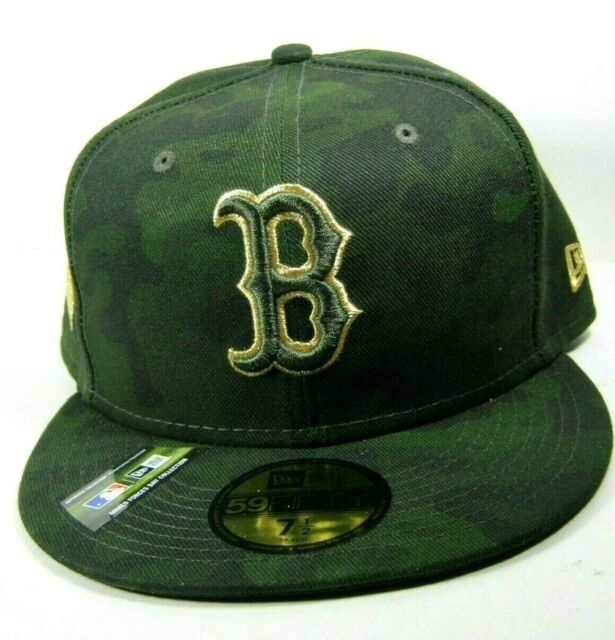 NEW ERA 5950 Armed Forces Boston Red Sox Baseball Hat Cap MLB Fitted Size 7 ½