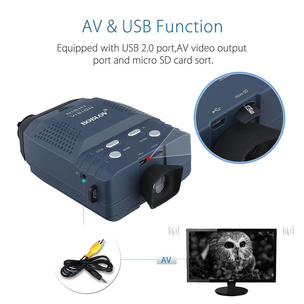 NV100 Digital Visión Nocturna IR Monocular  Binoculares Caza Grabadora Video Foto  ventas en linea