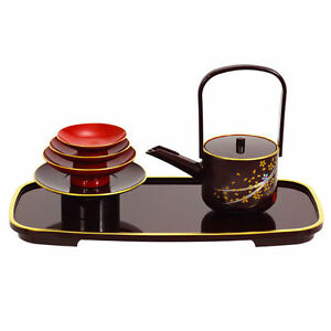 Japanese-Lacquer-Sakura-TOSOKI-San-San-Kudo-Wedding-Ceremony-Sake-Set-Made-Japan