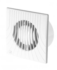 """Bathroom Extractor Fan Ducting Size 120mm / 4.72"""" White ..."""