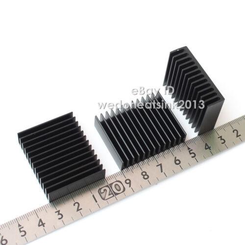 5pcs Aluminum 32x40x11mm Black Heatsink Radiator Heat Sink Cooler