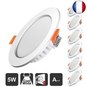 Spot-led-encastrable-Extra-plat-5W-500lumen-equivalent-50W-Blanc-Froid-6000k
