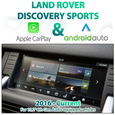 android auto land rover discovery sport