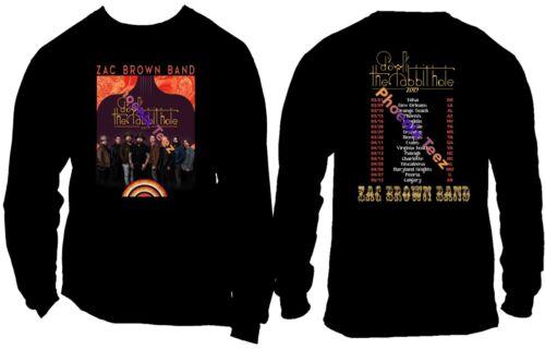 Zac Brown Band 2019 Concert Tour t shirt  S to 6X