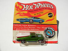 MATTEL BUILDING DUMPSTER DIVE HOT WHEELS REDLINE APPLE GREEN SEASIDER SEALED BP!