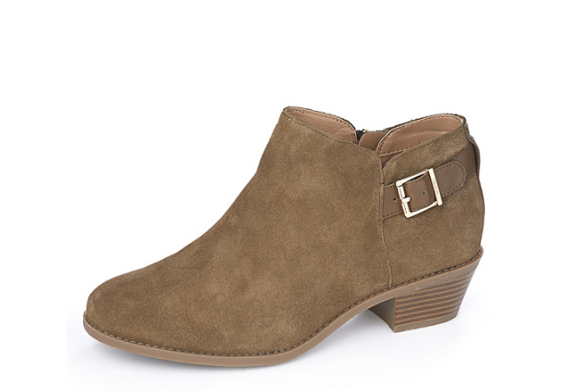 Vionic Orthotic Millie Suede Ankle Boots with with with FMT Technology Olive UK 3 EUR 36 ae8f1a