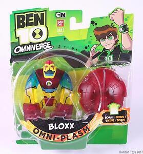 BEN-10-Omniverse-Omni-Plasm-Fusion-BLOXX-10cm-action-figure-toy-Bandai-NEW