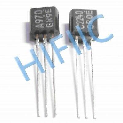 10pairs OR 20PCS TOSHIBA TO-92 2SA970-BL//2SC2240-BL 2SA970//2SC2240 A970//C2240