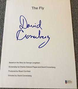 DAVID-CRONENBERG-SIGNED-AUTOGRAPH-034-THE-FLY-034-MOVIE-SCRIPT-BECKETT-BAS-COA