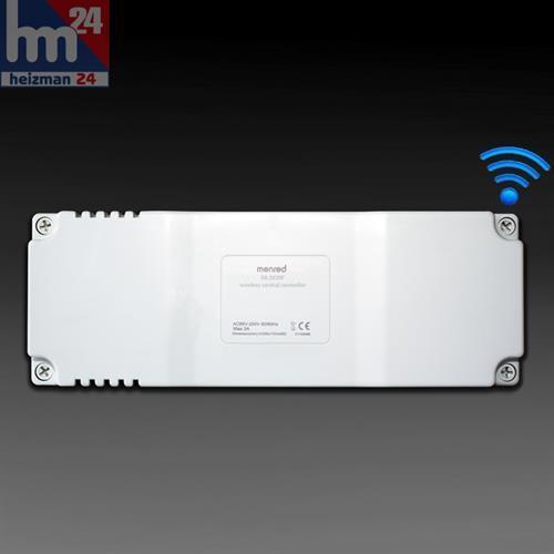 MenROT E8.583RF Mehrkanal-Funkempfänger 230 V mit 8 Kanälen 433 MHz