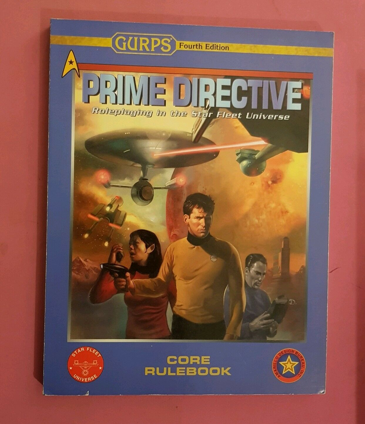 GURPS 4TH EDITION PRIME DIRECTIVE - COMPLETE GAME RPG ROLEPLAYING STAR TREK SFB
