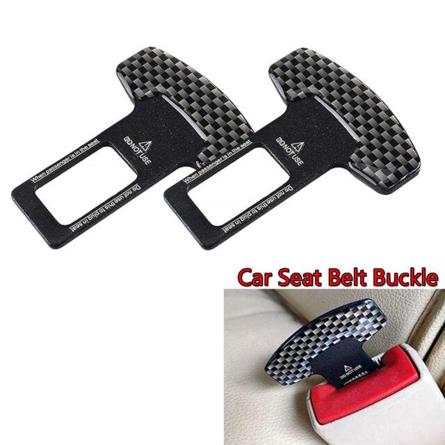 2Pcs Car Auto Seat Belt Control Buckle Clasp Insert Plug Fit For BENZ