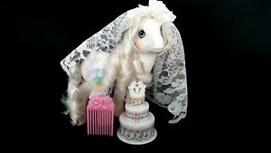 Pony-Bride-G1-Vintage-My-Little-Pony-With-Accessories