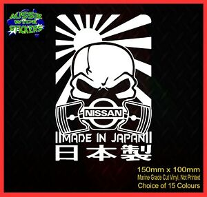 4x4-Ute-Car-cut-vinyl-decal-JDM-Stickers-MADE-IN-JAPAN-150mm-for-NISSAN