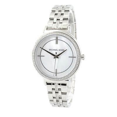 Michael Kors MK3641 Women's Cinthia Quartz MOP Dial Crystal Watch 796483317154 | eBay