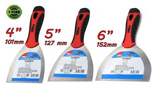 Acier Inoxydable Flexible de remplissage couteau Colle pour Joint Racleur Mastic Spatule