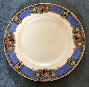 SM-Czechoslovakia-Dorchester-Blue-Floral-Plate-7-5