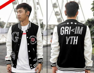 Grimyth Sneaker Bboy Rock Hiphop Rapper Skate Sport Sweater Men