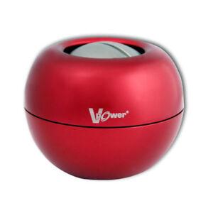 DYNAFLEX-RED-V-POWER-WRIST-EXERCISER-STEEL-GYRO-POWERBALL-plus-display-case