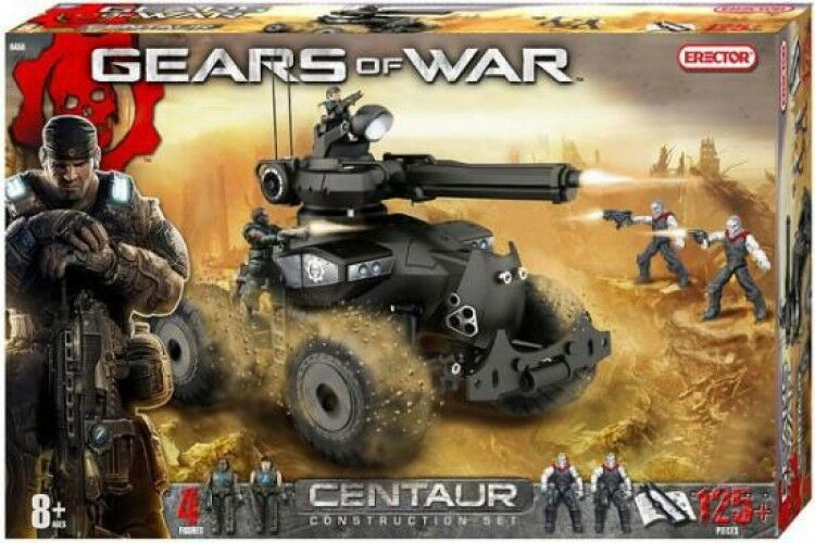 Gears of War Centaur Tank Construction Set