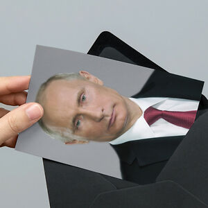 Vladimir Putin Photo - 6x4 inch Un-signed - with Unsealed Gift ...