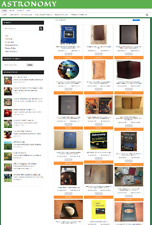 Fully Stocked Astronomy Website Easy Home Business 1 Years Hosting