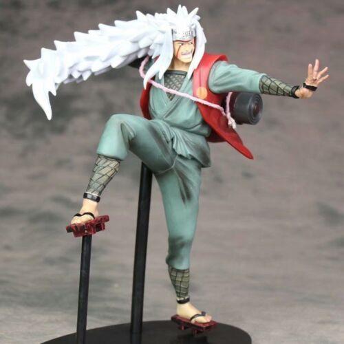 Hot Naruto Shippuden Jiraiya /& Gama Bunta PVC Figure Toy Gift Collection in Box