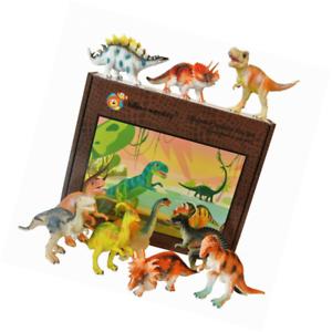 Dinosaur toy plastic figures boxed boxed boxed set of 12 - Large aeefec