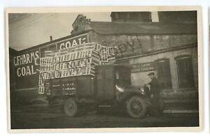 RPPC-Coal-Warehouse-Pickup-Truck-Blacksmith-New-York-City-Real-Photo-Postcard
