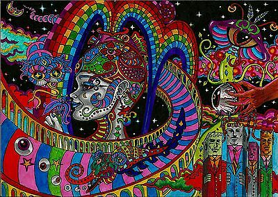 PSYCHEDELIC TRIPPY A3 POSTER PRINT ARTS TRI05 - BUY 2 GET 1 FREE