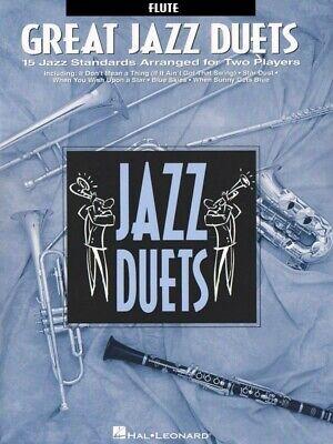 Instruction Books, Cds & Video Musical Instruments & Gear Inventive Great Jazz Duets Clarinet Jazz Duet New 000841017