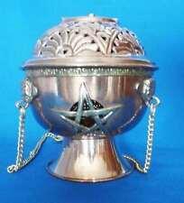 Encensoir  en cuivre avec pentagramme