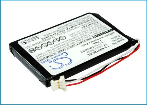 New 1000mAh Battery For Navigon 72 Easy Navigator Battery 72 Plus Live GPS